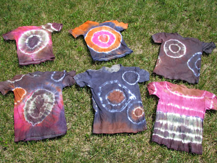 Tie-Dye T-Shirts Take One